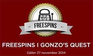 Freespins Gonzo's Quest