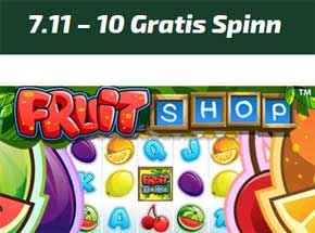 Fruitshop 7 november