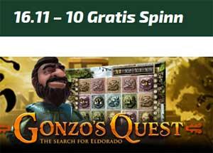 Gonzo's Quest 16 november 2014