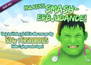 Hulkens Smash-erbjudande