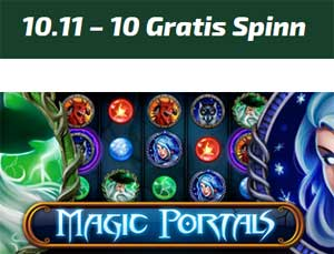 Magic Portals 10 november