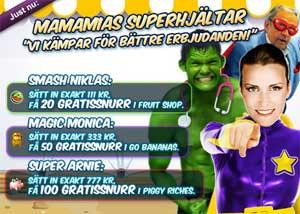 MamaMias Superhjältar 13 november