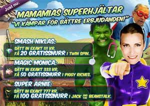 MamaMias Superhjältar 6 november 2014