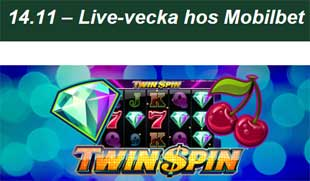 Mobilbet Twin Spin 14 november