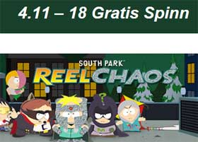 South Park Reel Chaos 4 november