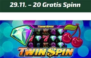 Twin Spin 29 november