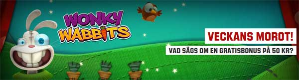 Veckans Morot på Wonky Wabbits