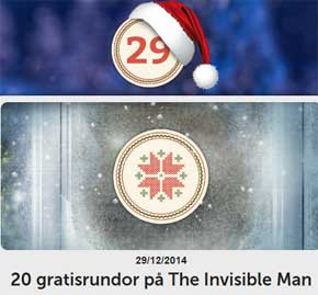 20 rundor på The Invisible Man