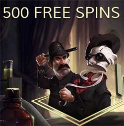 500 spins på The Invisible Man