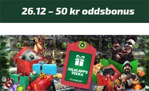 50 kr oddsbonus hos Mobilbet
