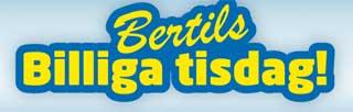 Bertils billiga tisdag