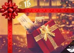 Betsson lucka 15 julklapp