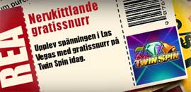 Cherry Casino Rea på Twin Spin