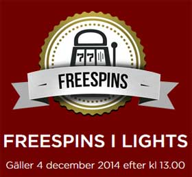 Freespins i Lights