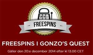 Gonzo's Quest 20 december