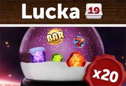 Lucka 19 hos ComeOn