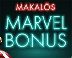Makalös Marvel bonus