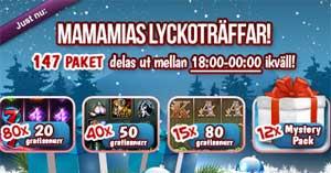 MamaMias Lyckoträffar den 19 december