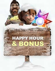 Thrills Happy Hour bonus