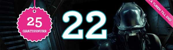 Vinnarum lucka 22