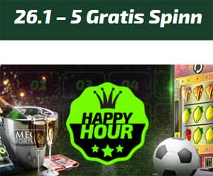 26 januari Happy Hour