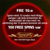 CasinoLuck fredag 16 januari