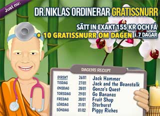 Dr Niklas kampanj den 26:e januari 2015