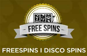 Freespins i Disco Spins