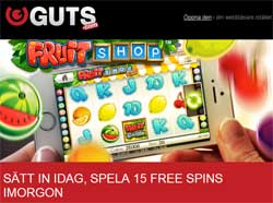 Fruit Shop kampanj hos Guts