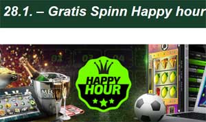 Happy Hour 28 januari