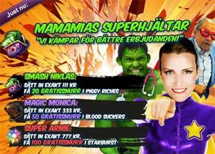 MamaMias Superhjältar 29 januari