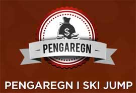 Pengaregn i Ski Jump