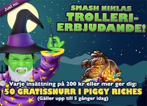 Smash Niklas trollar