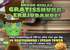 Smash Niklas gratissnurr