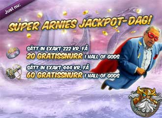 Super Arnies jackpot dag