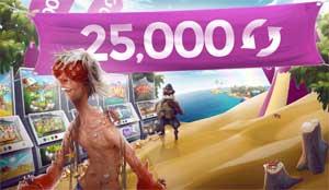 25000 spins hos Casino Saga