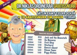 Doktor Niklas den 9:e mars