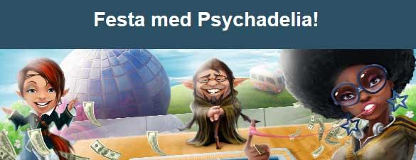 Festa med Psychadelia