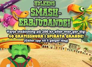 Hulkens Smash-erbjudande den 29 mars