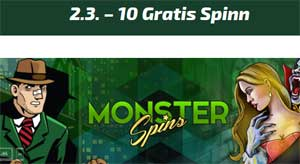 Monster Spins 2 mars 2015