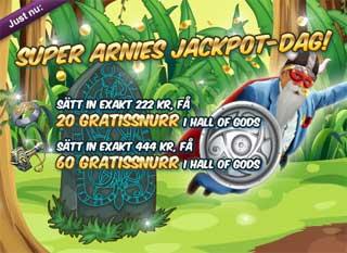 Super Arnie jackpot