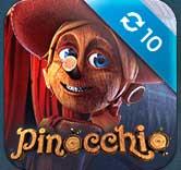 10 freespins på Pinoccchio