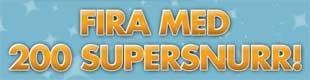 Fira med 200 supersnurr