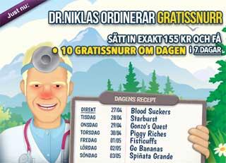 Dr Niklas kampanj den 27 april 2015