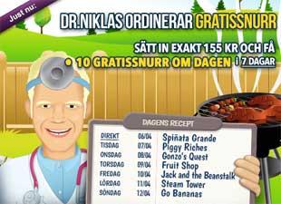 Doktor Niklas den 6:e april