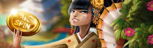 Geisha Bossen