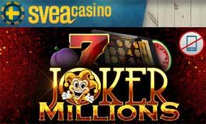 Joker Millions hos SveaCasino