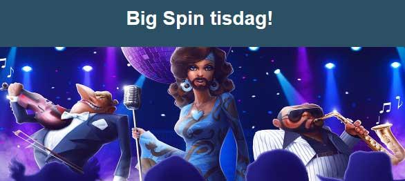 Big Spin tisdag