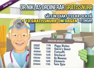 Dr Niklas den 11 maj