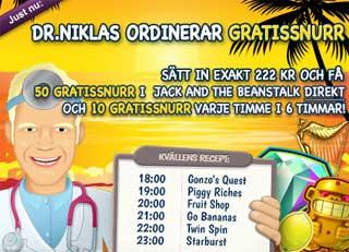 Dr Niklas den 15 maj